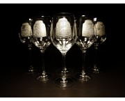 Poháre na víno Charisma 360 ml / 4ks