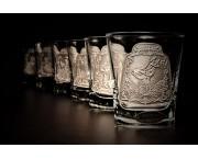 Poháre na Whisky hranaté  250ml / 6ks