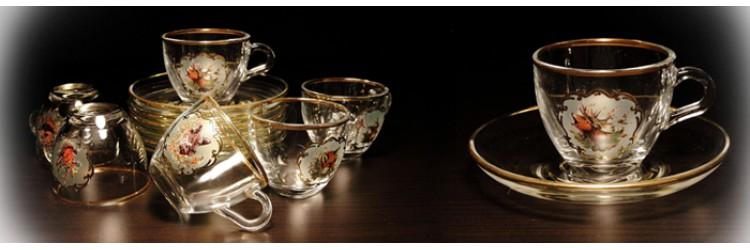 Šálky na kávu a čaj