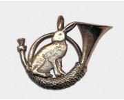 Odznak zajac - lesný roh c1