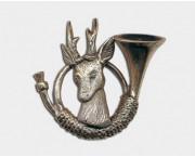 Odznak jelenček - lesný roh c6
