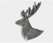 Odznak hlava jeleňa d8